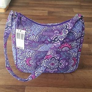 Vera Bradley Carryall Crossbody Lilac Tapestry NWT